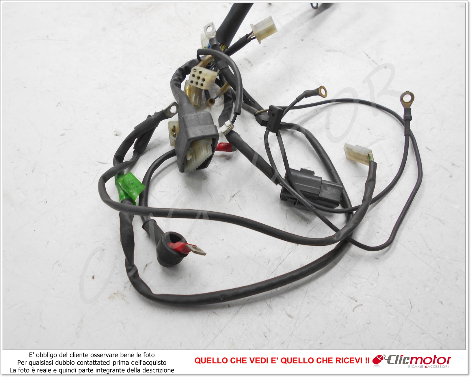 Schema Elettrico Husqvarna Sm : Cavi matassa impianto elettrico cablaggio original for