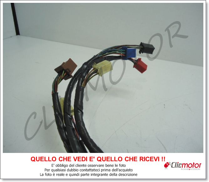 Schema Elettrico Honda Hornet 600 : Cavi matassa impianto elettrico cablaggio original for