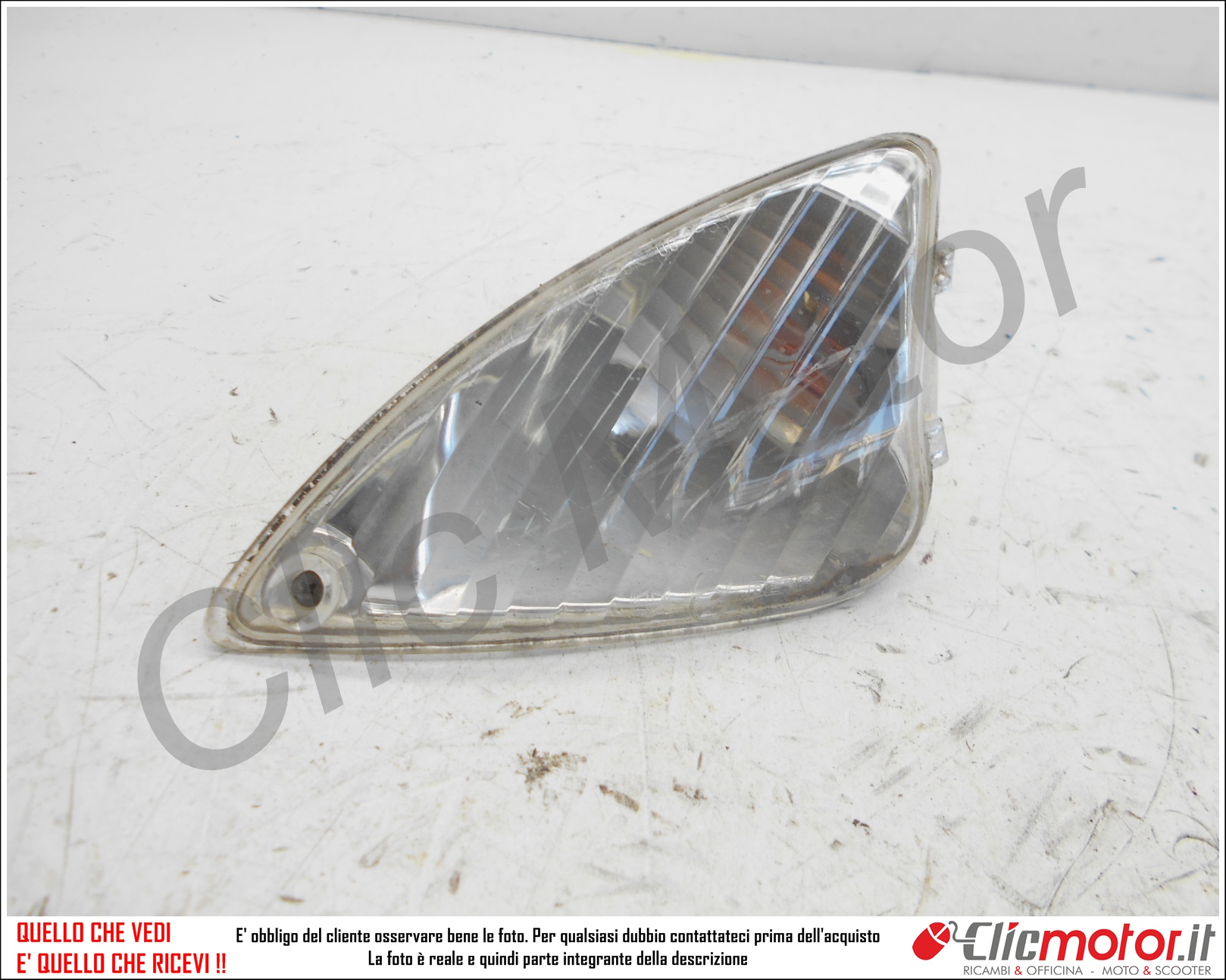 Rücklichtglas für Piaggio Liberty 50 125 2T 4T
